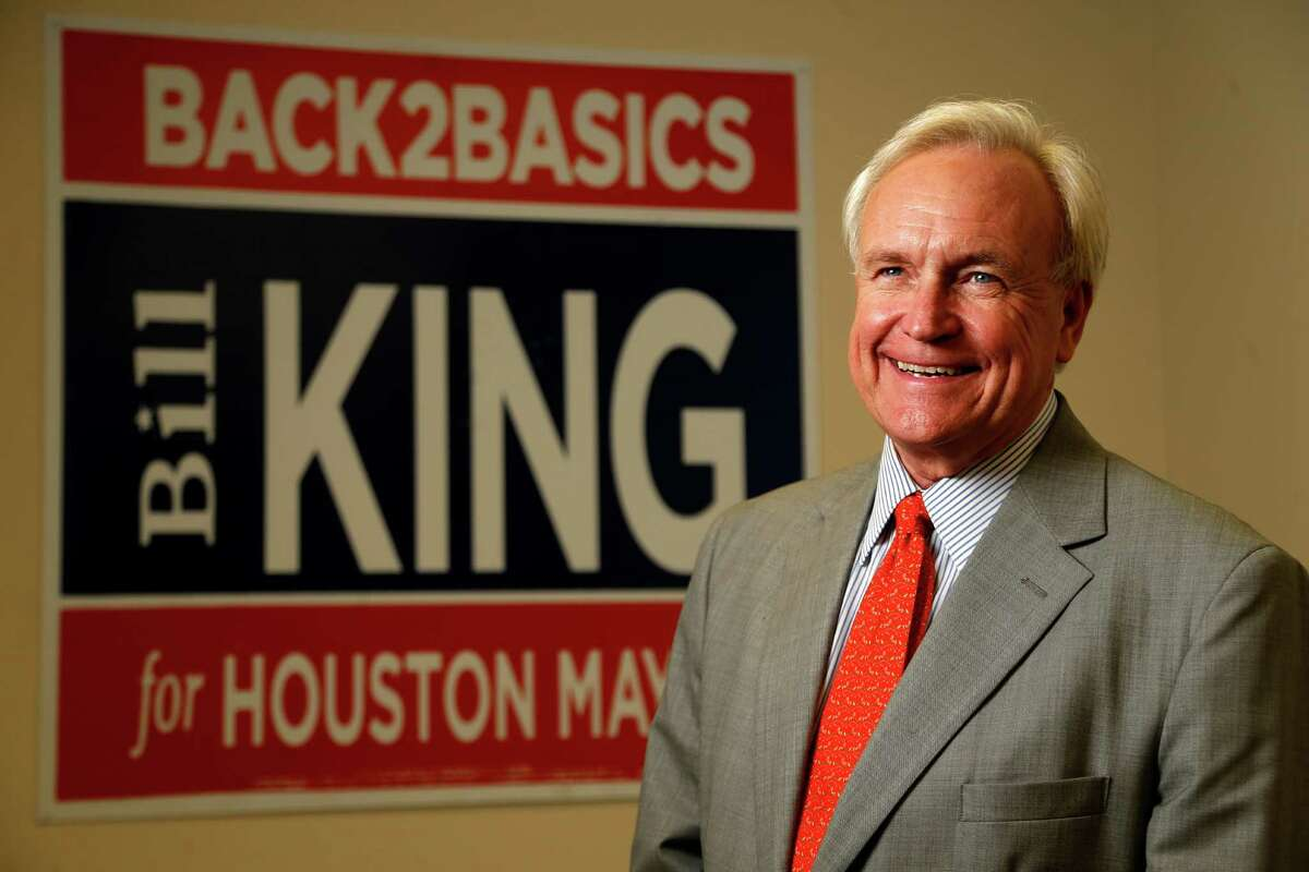 Businessman Bill King took Sylvester Turner to a runoff for Houston mayor last year, in part on the strength of his calls for city pension reform.