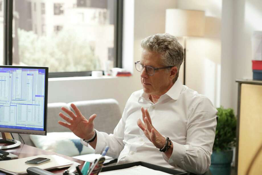 "Donny Deutsch stars as a shameless talk show host in ""Donny!"" Photo: USA Network / Patrick Harbron / USA Network / 2015 USA Network Media, LLC"