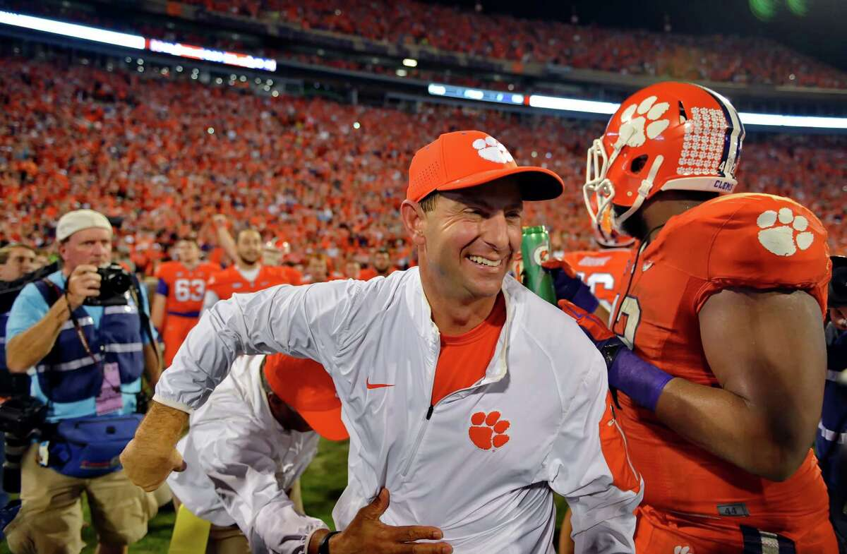 1.Clemson (12-0) What's left: vs. No. 8 North Carolina, 7 p.m. Saturday (ABC) Obviously, if the Tigers beat North Carolina, they're in and most likely the top seed. The more interesting scenario is what happens if they lose? That would make Clemson a one-loss team with its only defeat coming against a Top 10 team, and a resume with wins over Notre Dame and Florida State. That's still a pretty strong case for a playoff berth. Would they make it over North Carolina, despite losing to the Tar Heels? We'll address that in a bit.
