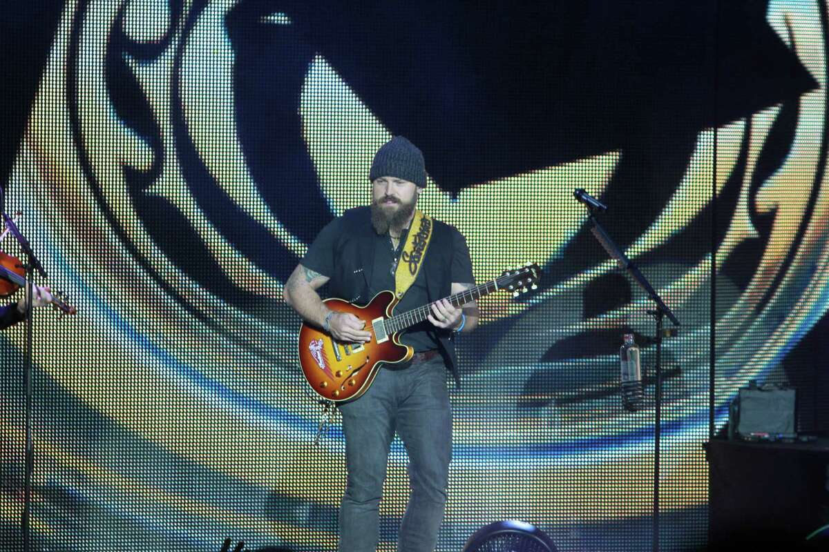 The Zac Brown Band playing at the Cynthia Woods Mitchell Pavilion in the Woodlands. (For the Chronicle/Gary Fountain, November 7, 2015)