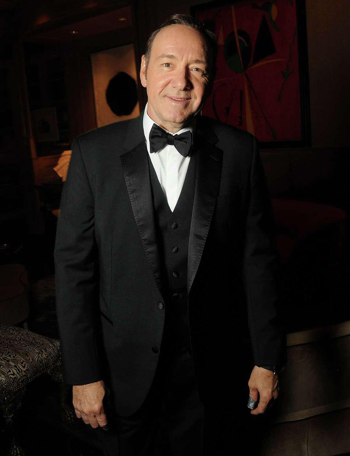 Academy Award winner Kevin Spacey at a Best Buddies benefit.