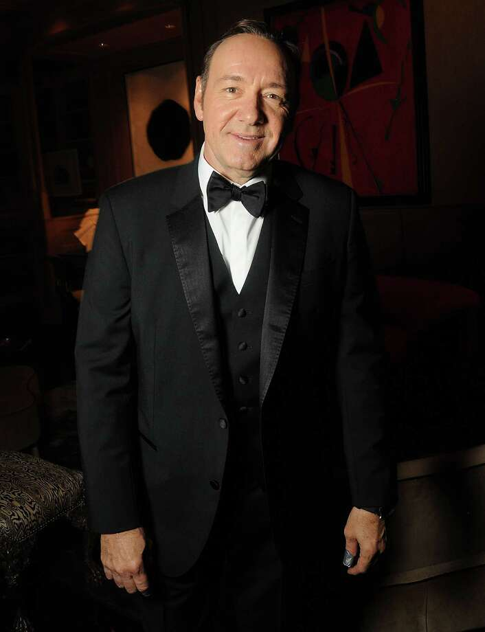 Kevin Spacey at a Best Buddies benefit at the home of Becca Cason Thrash and John Thrash Saturday Nov. 07, 2015.(Dave Rossman photo) Photo: Dave Rossman, For The Chronicle / Freelalnce