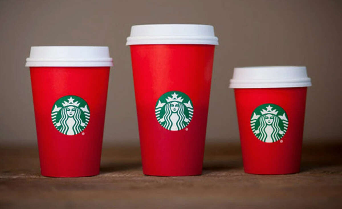 """Some Christians are upset at Starbucks' new holiday drinks, because of the lack of """"Merry Christmas"""" on the cups. This has sparked #MerryChristmasStarbucks to share their frustration. Keep clicking through the gallery to discover the Starbucks hacks that everyone should know."""