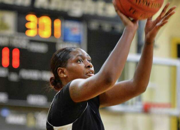 College of Saint Rose sophomore forward Staci Barrett during team practice Thursday Nov. 5, 2015 in Albany, NY. .(John Carl D'Annibale / Times Union) Photo: John Carl D'Annibale / 00034103A