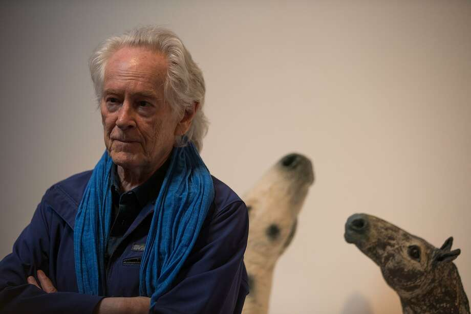 Michael McClure recites his works on Saturday, Nov. 7, 2015 in Palo Alto, Calif. Photo: Nathaniel Y. Downes, The Chronicle