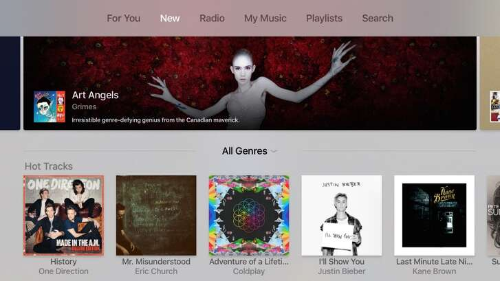 Apple Music is here, and it's very similar to what you get on the iPhone or iPad with iOS 9.