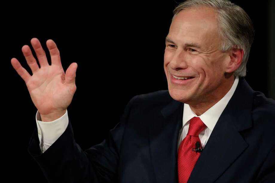 Gov. Greg Abbott answers a question during the final gubernatorial debate in Dallas in September 2014. One of Abbott's primary campaign goals was ethics reform; much of the legislation drafted to address his concerns didn't make it through the recent legislative session. Photo: Andy Jacobsohn /Associated Press / The Dallas Morning News Pool