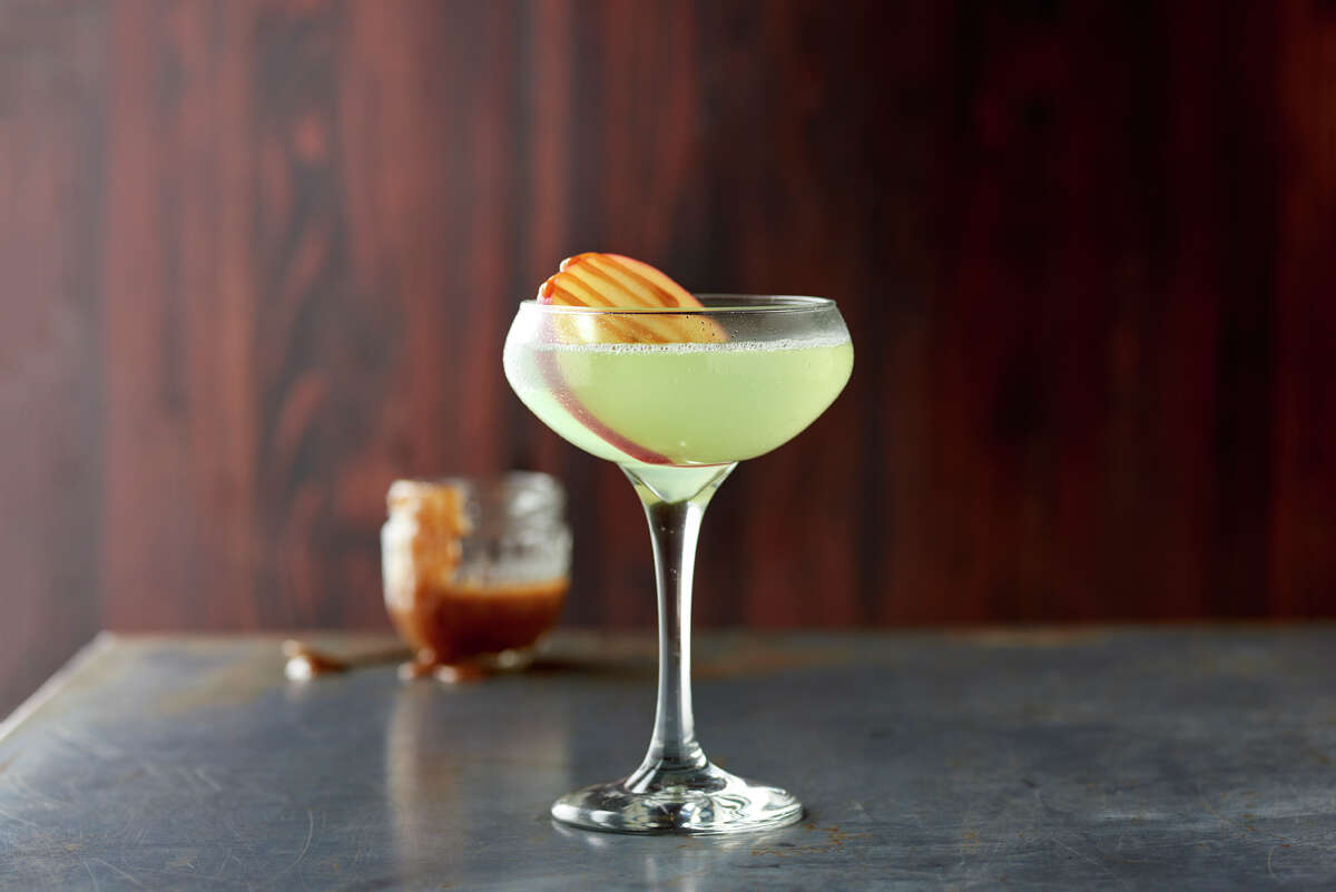 Caramel Apple Martini by Zodiac Vodka 1 ½ ounces Zodiac Vodka½ ounce sour apple schnapps½ ounce butterscotch schnapps½ ounce fresh lime juice½ ounce simple syrupCombine ingredients in a cocktail shaker with ice. Shake and strain into a coupe glass.
