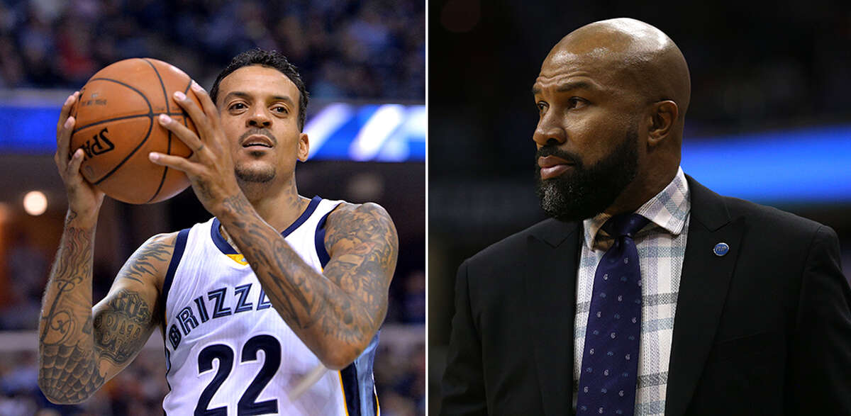 Matt Barnes and Derek Fisher Barnes allegedly attacked Knicks coach Derek Fisher when he found out Fisher and his estranged wife were getting romantic.
