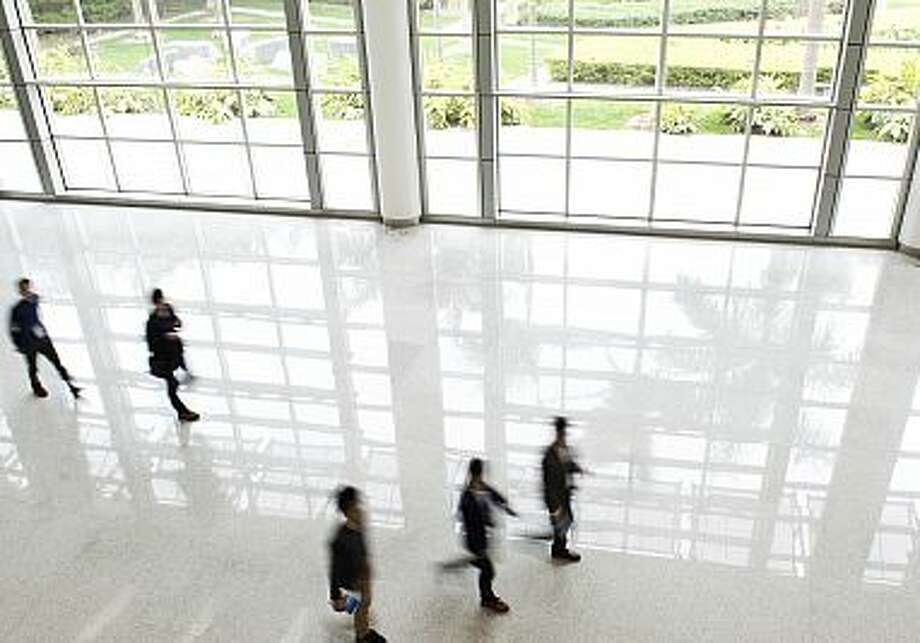 "A new study sees a link between ""green"" office spaces and work productivity. Photo: Contributed / Contributed / Connecticut Post"