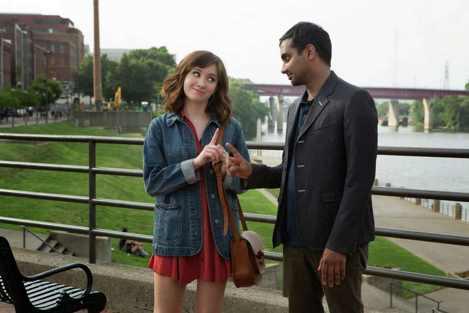 "Noél Wells and Aziz Ansari star in the Netflix original series ""Master of None."" Photo: K.C. Bailey /Netflix / Fresno Bee"