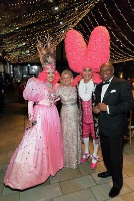 Dede Wilsey and Willie Brown at the Tenth Anniversary Celebration of the New de Young Museum.