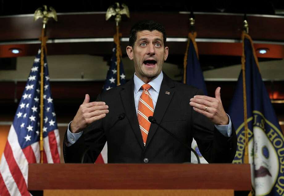 On immigration reform, and likely many others, House Speaker Paul Ryan is simply looking at the wrong majority. He should scrap the Hastert rule. Photo: Win McNamee /Getty Images / 2015 Getty Images