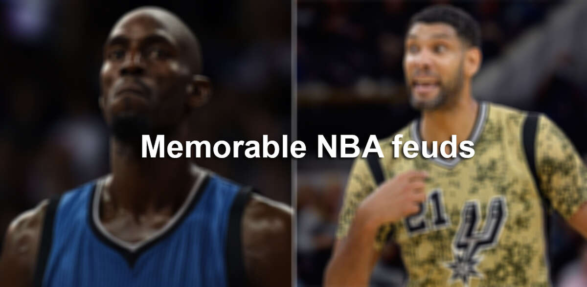 Kevin Garnett and Tim Duncan aren't the only NBA players to butt heads.