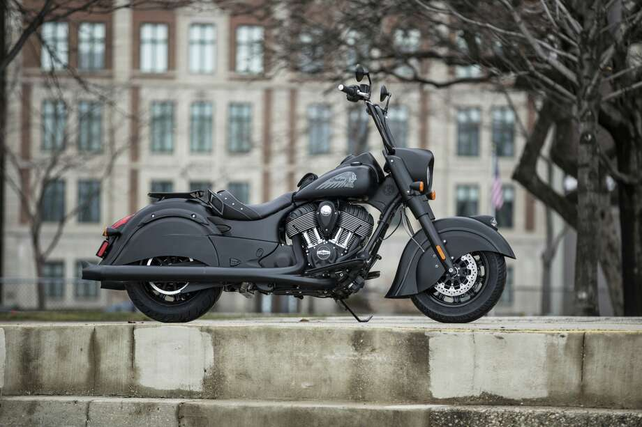 The 2016 Indian Chief Dark Horse motorcycle. Photo: Indian