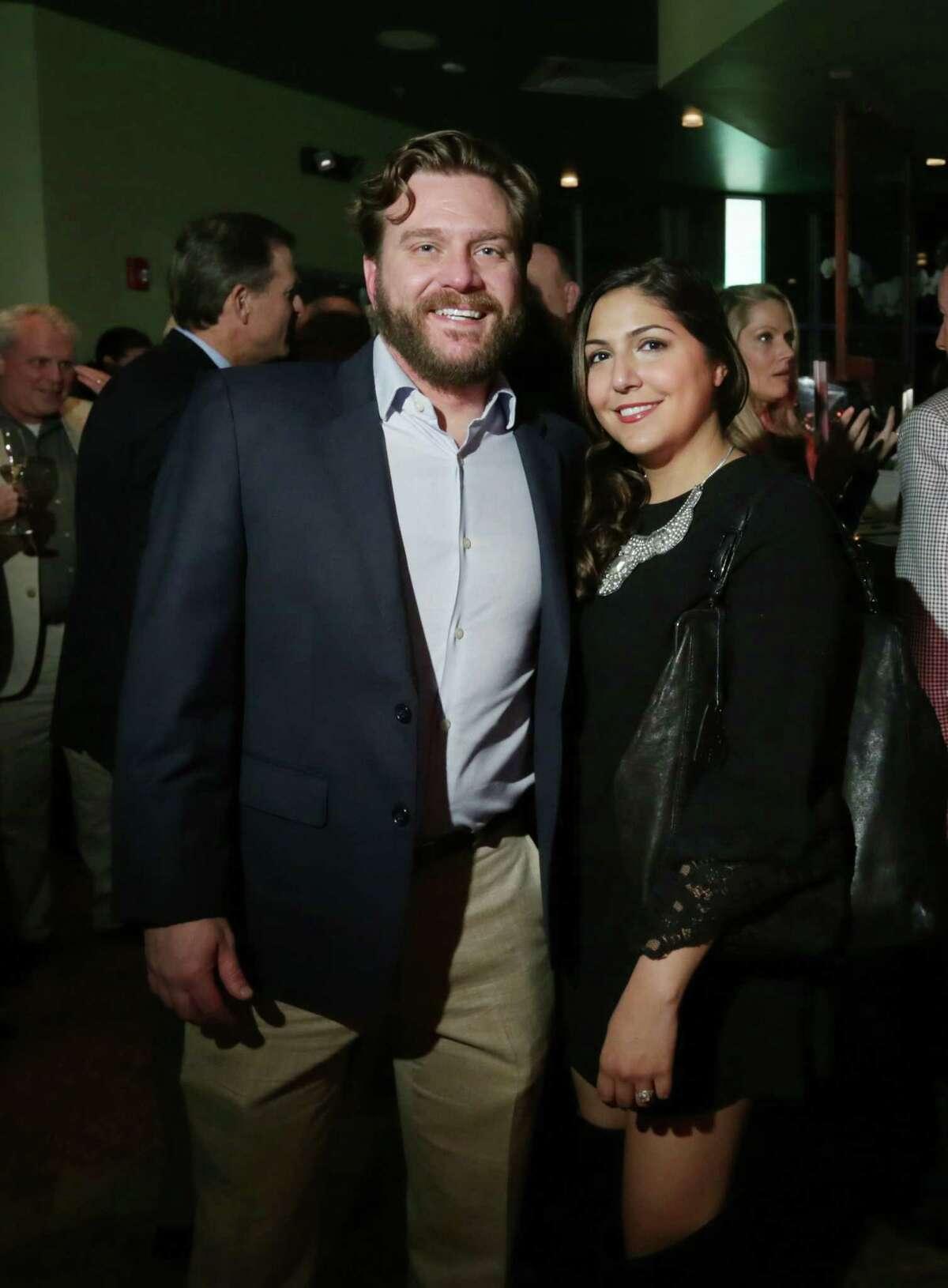 Jake Mase and Sara Abdolpour
