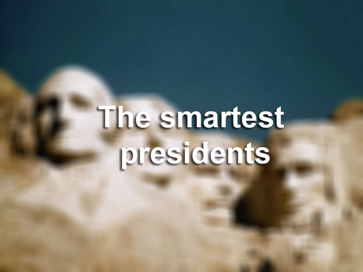 A researcher came up with presidents' IQ numbers based on select criteria. Keep clicking to find out who is the smartest president of all.