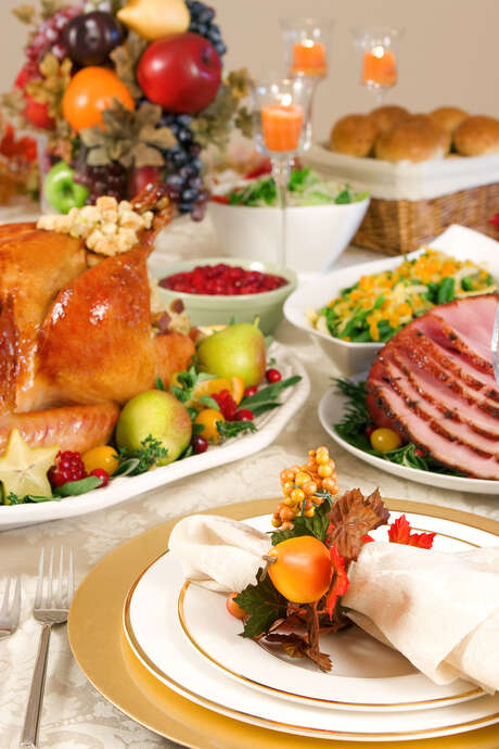 This year's bird-flu outbreak in the U.S. means turkeys will be more expensive for families sitting down for their Thanksgiving meal. But wholesale prices for ham are the lowest for this time of year since 2009. Photo: Fotolia / Olga Lyubkin - Fotolia
