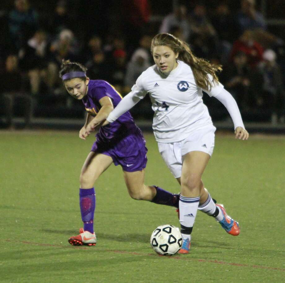 Wilton defeated Westhill 1-0 during a FCIAC first round Class LL girls soccer game on Nov. 9, 2015 in Wilton. Photo: Matthew Brown, For Hearst Connecticut Media
