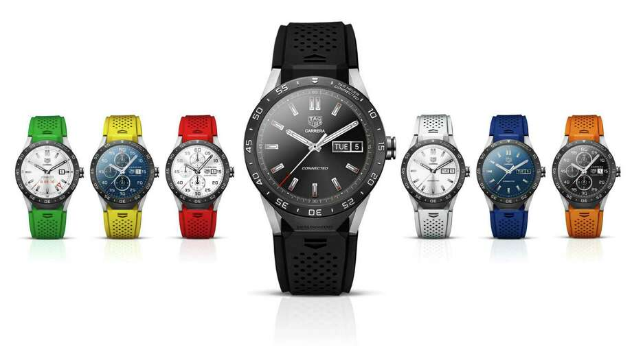 Tag Heuer has partnered with Intel and Google to produce a wristwatch.  Photo: HONS / Google