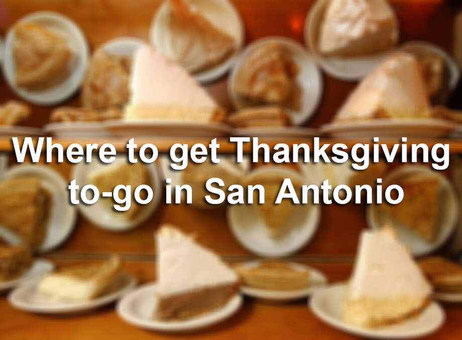 Whether you're looking for a whole Thanksgiving meal or meats, sides and desserts to go, restaurants on this list have what you need.