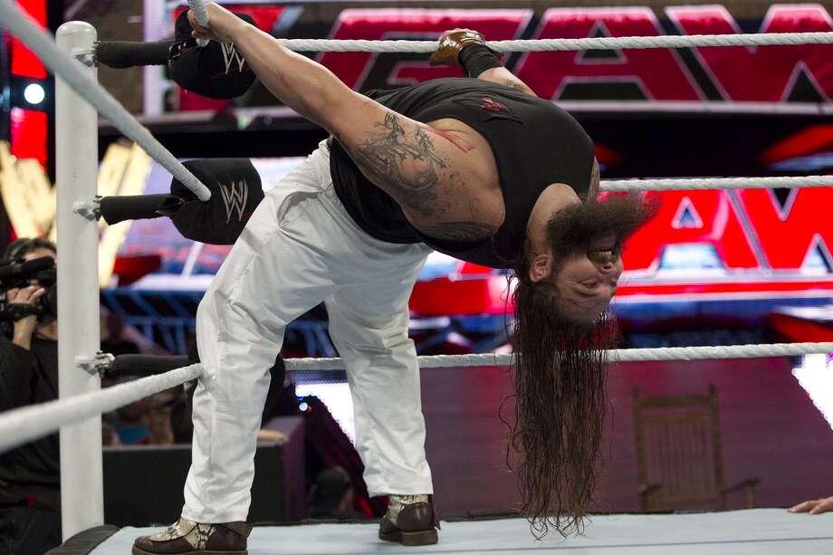 Bray Wyatt will be part of the WWE Raw live broadcast from San Antonio. Photo: Courtesy Photo
