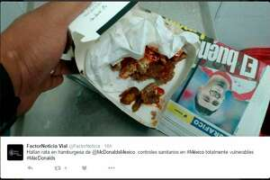 Alleged rat head found in McDonald's burger (warning: extremely gross) - Photo