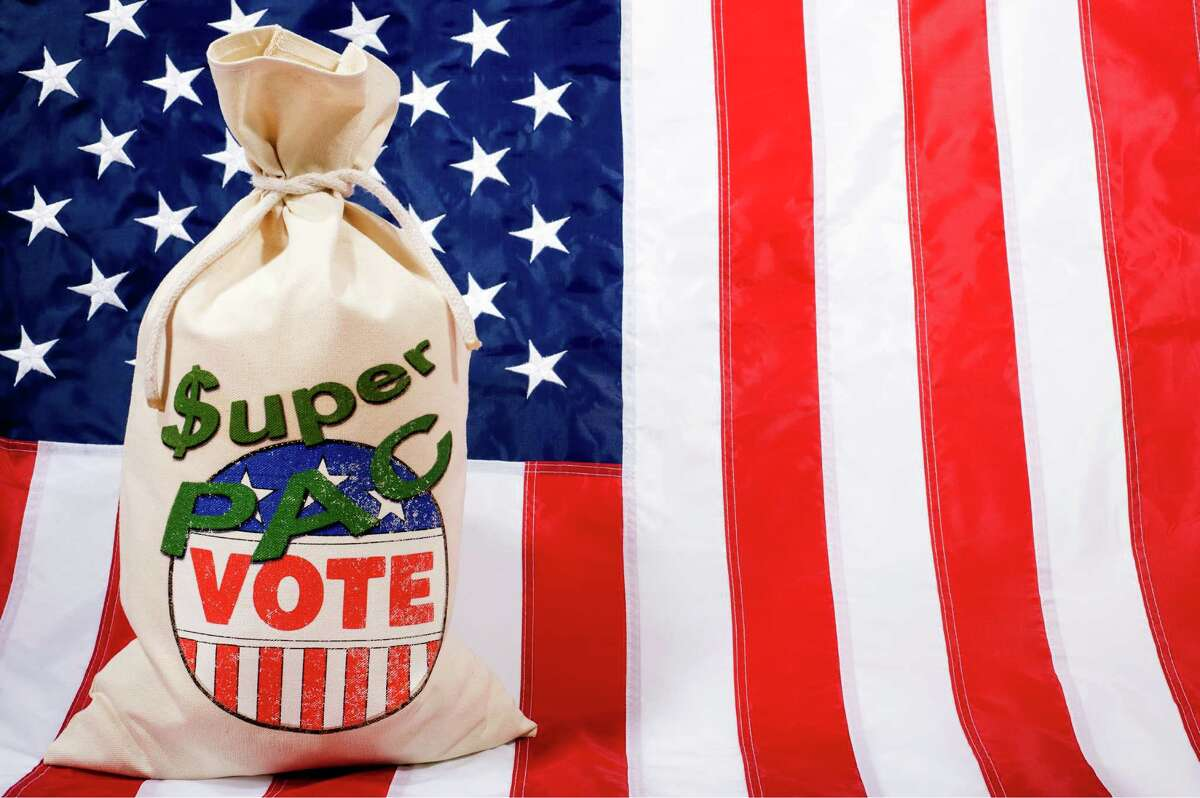 Click through to see the top ten states funding the country's super PACs.