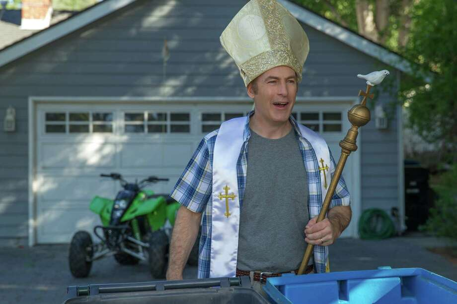 """Bob Odenkirk changes careers and becomes Pope Jonah Abramovitz in """"With Bob and David."""" Photo: Saeed Adyani/Netflix / Saeed Adyani / Netflix"""