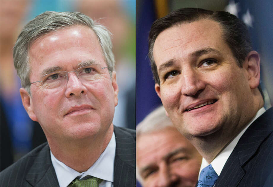 Jeb Bush and Ted Cruz: Teaming up to knock down Marco Rubio?