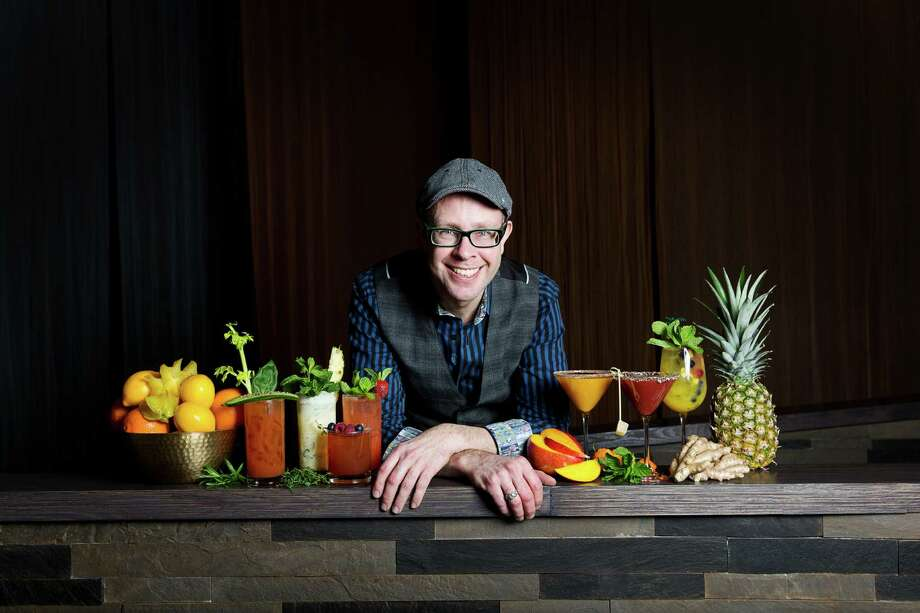 Adam Seger, award-winning master mixologist, developed the beverage menu for the Tuck Room, a modern speakeasy and gastro lounge inside the new iPic Theaters Houston, at River Oaks District, 444 Westheimer. Photo: IPic Entertainment
