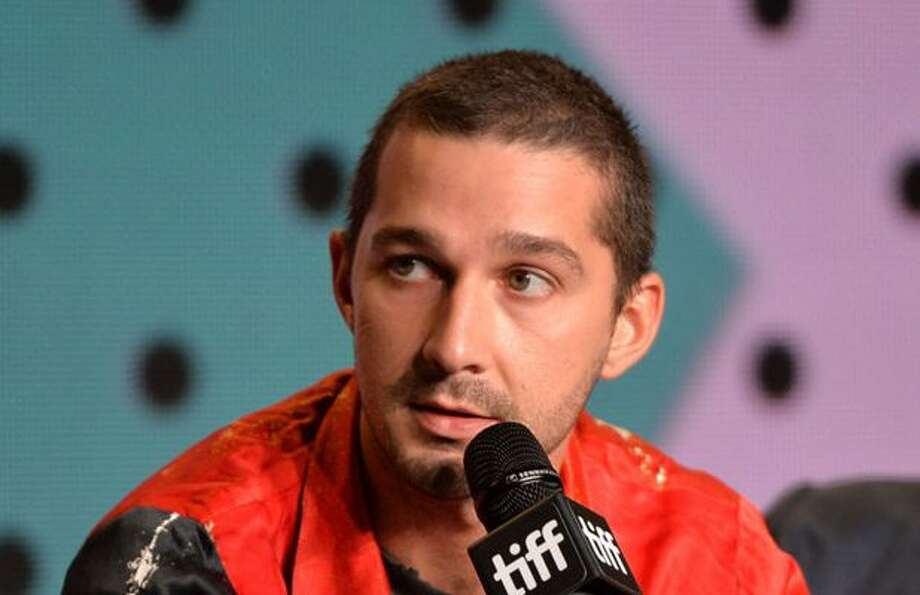 Mario Licato, left, was assaulted in New York over the weekend after being mistaken for actor Shia LaBeouf, seen right.