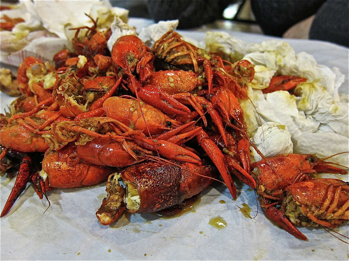 Shell crawfish Be able to devour a few pounds of crawfish on your own, or at least a good portion of your body weight.