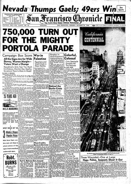 The Portola Festival Parade set San Francisco records. Here, its Chronicle coverage.
