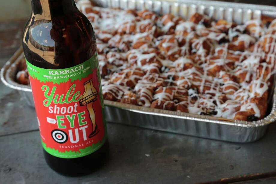 Karbach Brewing Co.'s Yule Shoot Your Eye Out is included on a CraftBeer.com list of noteworthy winter seasonals. Photo: Billy Smith II, Chronicle / © 2015 Houston Chronicle