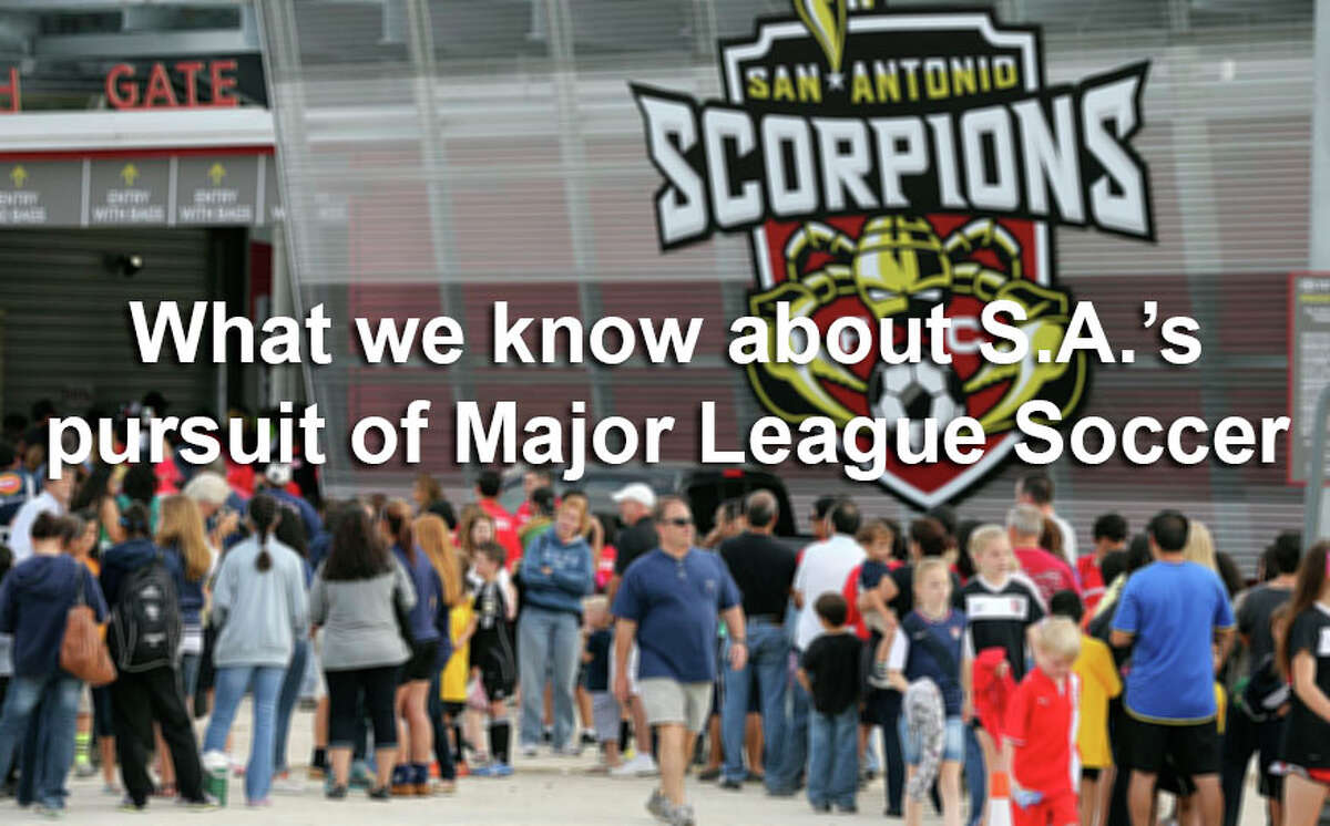 This is what we know so far about the effort to bring top-tier pro soccer to San Antonio.