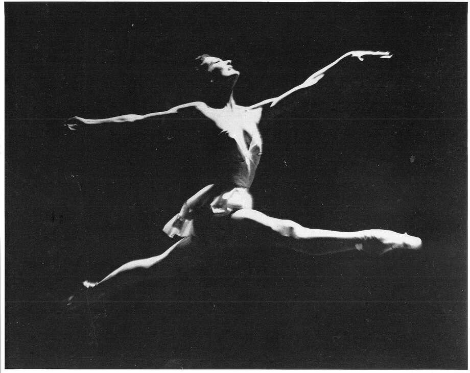 Jocelyn Vollmar dances with the San Francisco Ballet circa 1960. Photo: Courtesy Jocelyn Vollmar