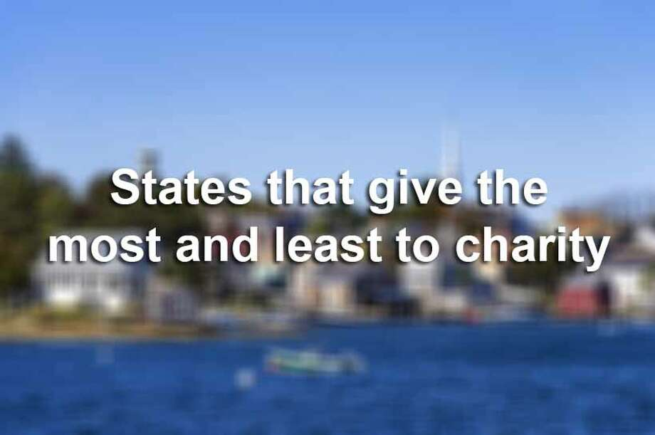 Scroll through for a look at the 10 states (including Washington D.C.) that give the least to charity and the 10 states that give the most. Giving is defined as a percentage of adjusted gross income. Photo: John Greim, File / © 2012 John Greim
