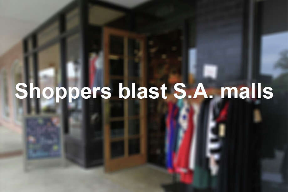 A mixed bag of quality and budget, the shopping malls in S.A. elicit a wide spectrum of emotional reviews tied to the heights of consumer euphoria and the depths of its misery. Photo: Karen Warren, San Antonio Express-News / © 2014 Houston Chronicle