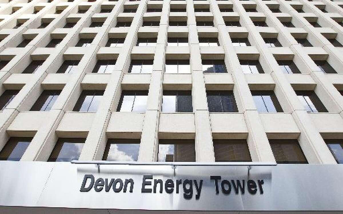 Devon Energy Headquarters: Oklahoma City, Oklahoma Income: $1.3 billion Federal tax: -$14 million Effective tax rate: -1 percent