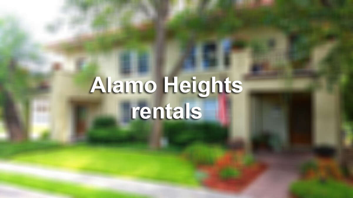 Six short term rentals available in Alamo Heights.