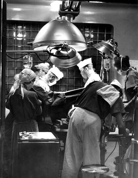 San Francisco General Hospital, shown in 1958, was inclusive from the beginning. Photo: Bob Campbell, The Chronicle