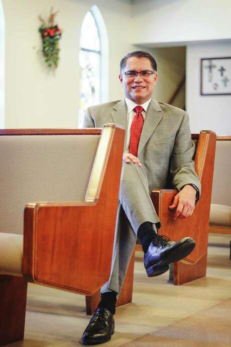 Rene Maciel, president of Baptist University of the Americas, elected president of Texas Baptists, November 2015 Photo: Courtesy / Courtesy