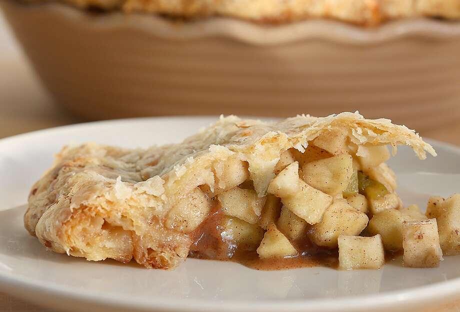 Hatch chile apple pie in San Francisco, California, on Tuesday, November 10, 2015. Photo: Liz Hafalia, The Chronicle
