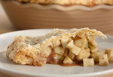 Hatch chile apple pie in San Francisco, California, on Tuesday, November 10, 2015.