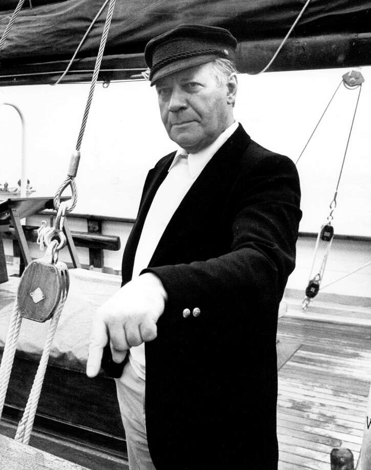 Helmut Schmidt, shown in 1982 onboard the sailing ship Atalanta, was called a master of the realpolitik in Europe. The straight-talking former German chancellor commanded respect and made headlines into his twilight years. Photo: WULF PFEIFFER, Staff / DPA