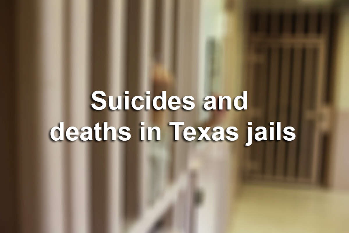 Suicides and deaths in Texas jails.