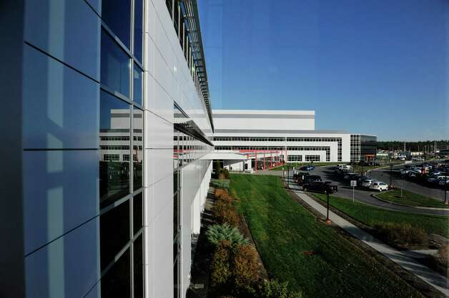 A view of the GlobalFoundries Fab 8 facility  during a tour on Monday, Nov. 9, 2015, in Malta, N.Y.  (Paul Buckowski / Times Union) Photo: PAUL BUCKOWSKI / 00034137A