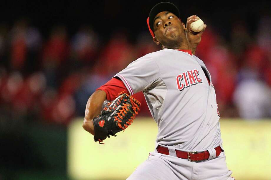 The Astros may take another look at a trade for a closer like Aroldis Chapman but wouldn't want to pay as high a price as last summer. Photo: Dilip Vishwanat, Stringer / 2012 Getty Images