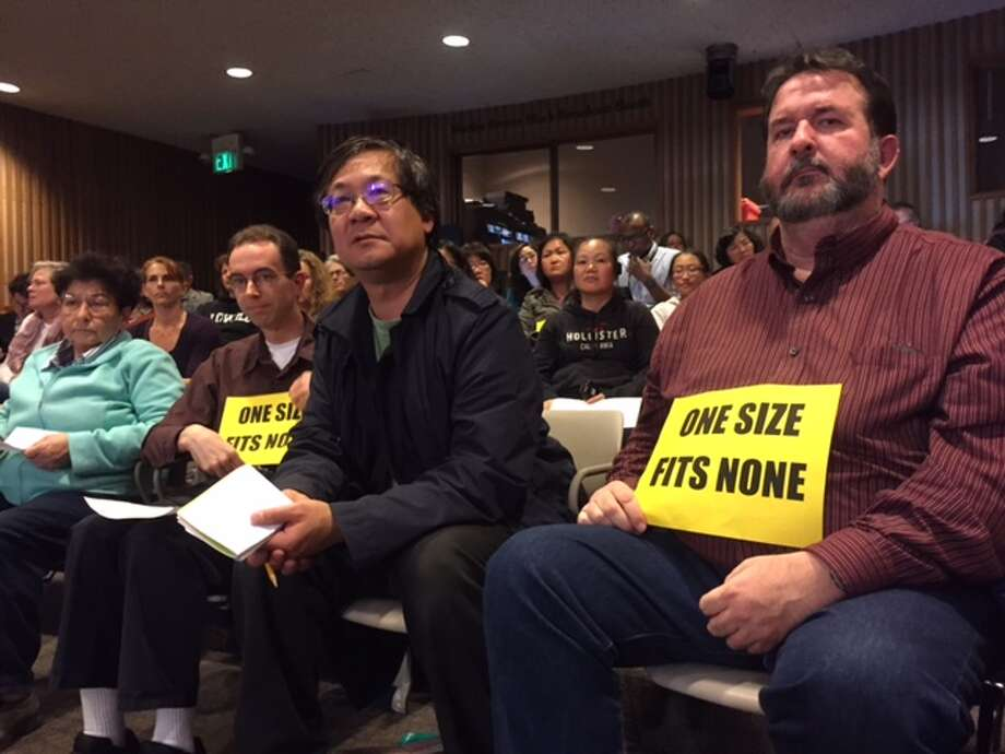 Parents at Tuesday's S.F. school board meeting said the district isn't doing enough for smart students.